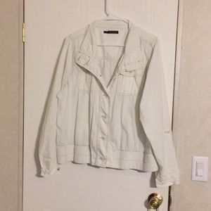 Maurice's lightweight plus size button up jacket